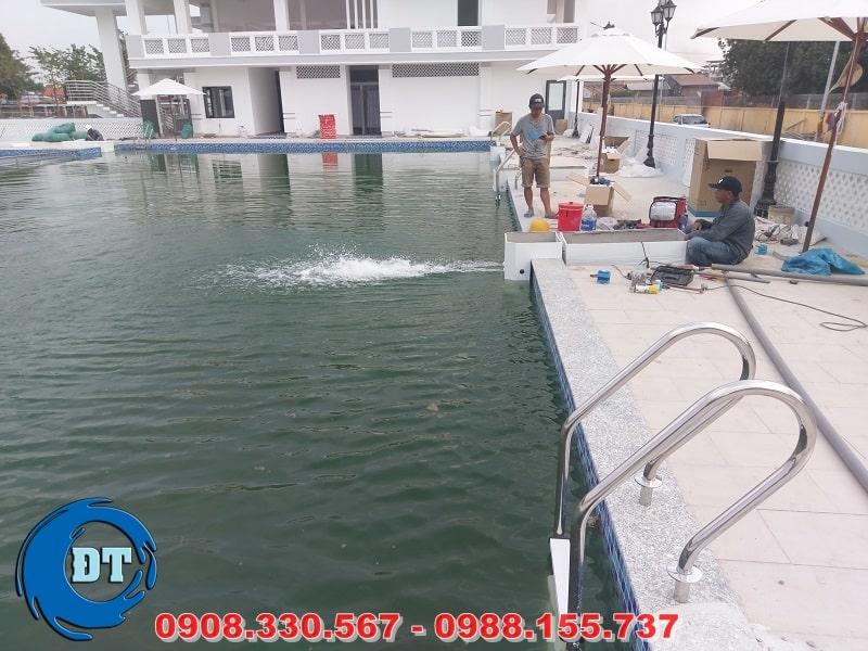 Vận hành máy lọc nước